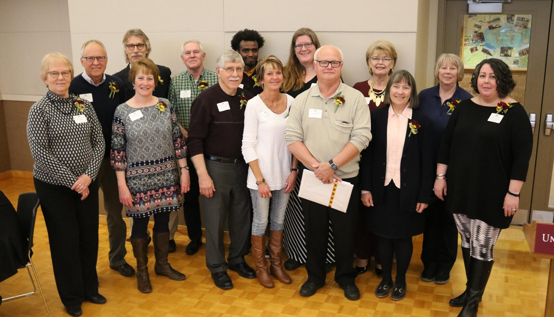 Faculty and staff award winners and retirees