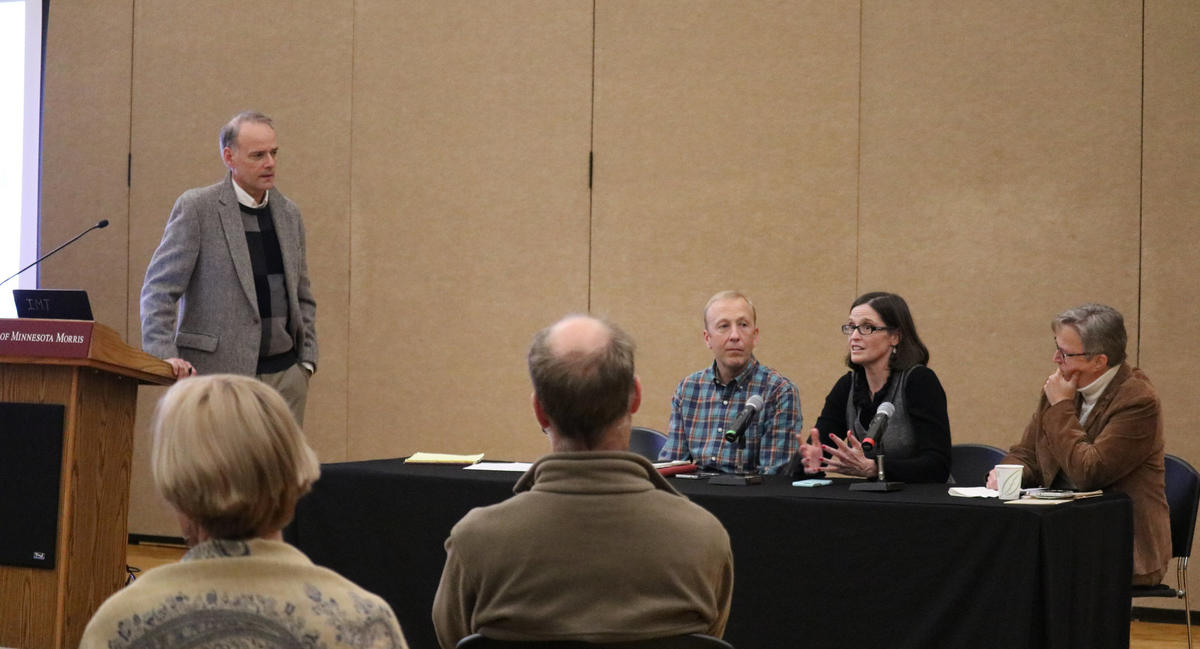 """CST staff and partners discuss """"Diversity in the Post-Agricultural Rural Economy"""""""